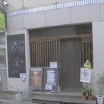 串揚げ いんぐ - 寿司「寿楽」の北側の角を西に少し入ったところにあります