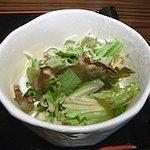 串揚げ いんぐ - 胡麻ドレッシングのサラダ