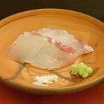 鮨 そえ島 - ◆平目(唐津)・・5kgの立派な平目で上品な脂がのり美味しい。