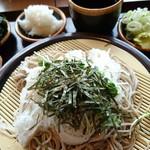 花園蕎麦 - 大根そば480円 海苔トッピング