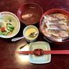 尾州鮨 - 料理写真:鯖丼1150円、茶碗蒸し195円です。