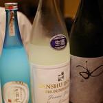ぽんしゅや 三徳六味 - 飲み比べ