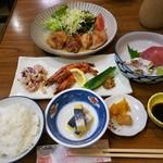 ホテル七福 - 夕食1