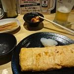梅田大衆酒場 H - 味噌ニンニクとだし巻き玉子
