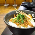 つけ麺たつ屋 - ホタテご飯