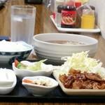 高砂食品 - 生姜焼き定食