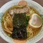 弾岩ラーメン - 料理写真:ウルメ節出汁らぁめん730円
