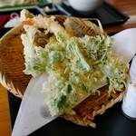 奥利根うどん本舗 - 天ぷら