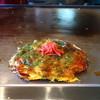 広島お好み焼き かたつむり - 料理写真:お好み焼き ヤサイ入
