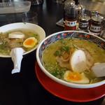 あじさい - 味彩塩拉麺&味彩塩拉麺ハーフ