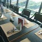 ビューアンドダイニングザスカイ - THE Sky @Hotel New Otani 用意された席