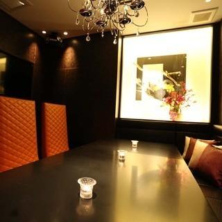空間大事な御宴会に最適。VIPルームがお薦めです。