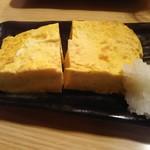 春駒 - 自家製厚焼き玉子 400円