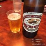 だるま屋 - ビール大 550円
