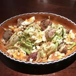 ヴェール パール ナオミ オオガキ - 砂肝のコンフィ・サラダ