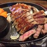 Steak & Sports Diner スーパースター - なかなかボリュームがありました。