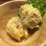Steak & Sports Diner スーパースター - 美味しいポテトサラダです。