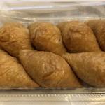 末廣 - ◆いなり・・お揚げは甘めで、美味しいそうですよ。 中に具材が入っていたかどうか確認するのを忘れました。