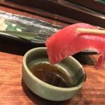 日本酒と個室居酒屋 農家の慶 - 日本酒と個室居酒屋 農家の慶 海浜幕張店(千葉県千葉市美浜区ひび野)獲れたて鮮魚の握り五貫盛