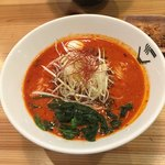 クリーミーTonkotsuラーメン 麺家 神明 - REDクリーミー担々麺