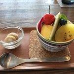 おうちカフェ frukt - 料理写真:45分待ったプリン・ア・ラ・モード