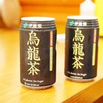 Yu Chun Korean Restaurant - 烏龍茶は缶でした