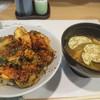 天よし - 料理写真:かき揚げ丼①