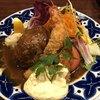 浅井食堂 - 料理写真:ハンバーグとエビフライ