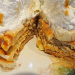 88144805 - パンケーキ・ア・ラ・モード~8種のフルーツパンケーキ~の断面