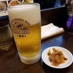 熊猫 - 中ジョッキ 420円