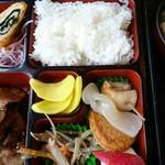 桂泉 - 焼肉定食(¥800)