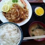 松ノ木食堂 - 焼肉定食¥750