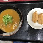 う丼屋 - カレーうどん+いなり2個