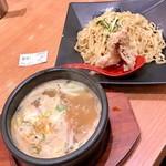 88152260 - 濃厚強火炊きつけ麺:840円