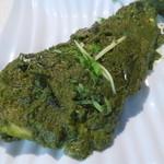 バンゲラズ キッチン - グリーンマサラフライ(ホッケ)