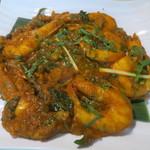 バンゲラズ キッチン - マサラフライ(バナメイエビ)
