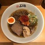 別府手ごね冷麺 ふくや - ふくや冷麺 石臼粗挽き麺 3辛