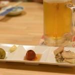 宝寿司 - 料理写真:お通し