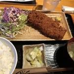 まるいち亭 - ヒレかつ定食 1500円
