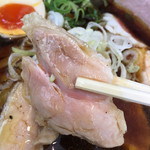 とりそばモリゾー - 鶏焼豚⁉︎あっぷ〜(*゚.▽゚*)۶