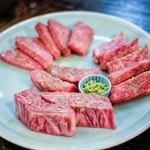 満月 - 料理写真:お肉盛合せ
