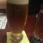 日本酒スタンド 酛 - 生ビール