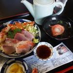 料亭 花月 - 室戸キンメ丼(1,600円)