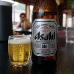 料亭 花月 - 瓶ビール(700円)