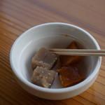 おちゃくりcafe - 試食のおかし(店内で販売中)