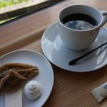 おちゃくりcafe - しまんとモンブラン(500円)とオリジナルブレンド(500円)