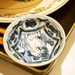 お茶と酒 たすき - キャラメリゼしたナッツと焦がし塩キャラメルソース(塩)