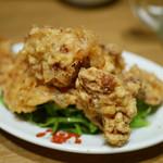 豆皿中華Q - 豚肉の天ぷら