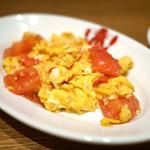 豆皿中華Q - トマトと卵の炒め