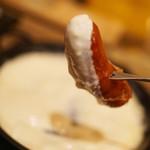 北海道チーズフォンデュファクトリー 炭リッチ -
